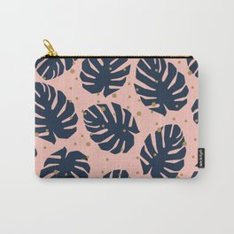 Tropics Navy Carry-All Pouch