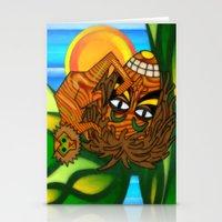 jojo Stationery Cards featuring Congo JoJo by BohemianBound