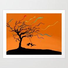 Among the Winds Art Print