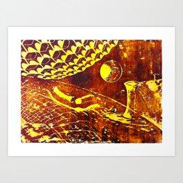 Nano world Art Print