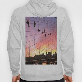 Brooklyn Bridge Painters Quitting Time Hoody