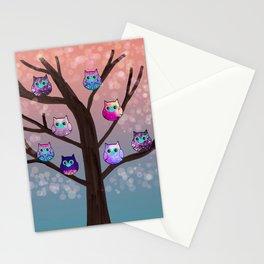 owl-76 Stationery Cards