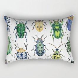 Colourful Bugs Rectangular Pillow