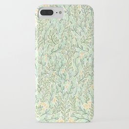 Green and Yellow Leaves iPhone Case