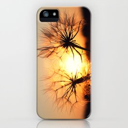 sunset in august iPhone Case