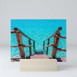 Stairway to Refreshment Mini Art Print