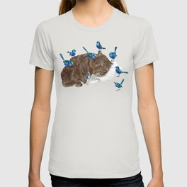 Wrens Wombat sleep T-shirt