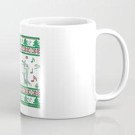 Drums Christmas Coffee Mug
