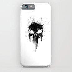 Black Skull Slim Case iPhone 6s