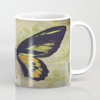 tapestry Mugs featuring Tapestry by KunstFabrik_StaticMovement Manu Jobst