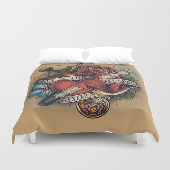 All of Time and Space Duvet Cover