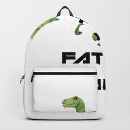 Father of Raptors Dinosaur Backpack