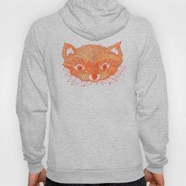 Orange Fox Hoody