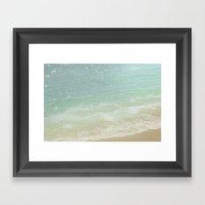 Take Me To The Sea Framed Art Print