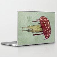 mushroom Laptop & iPad Skins featuring Mushroom by Lime