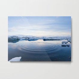 Arctic Sea Metal Print