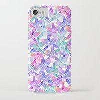 hawaiian iPhone & iPod Cases featuring Hawaiian flowers by Marta Olga Klara