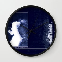 all my faith lost ... - The Hours  Wall Clock