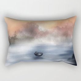 The Lake of Tranquility Rectangular Pillow