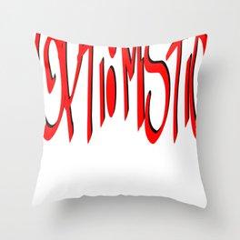 opti:mistic Throw Pillow