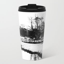 Reflection in the snow Travel Mug