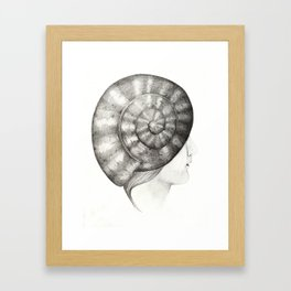 Caracola Framed Art Print