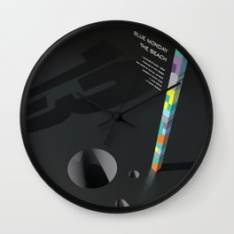 Blue Monday Inspired Wall Clock
