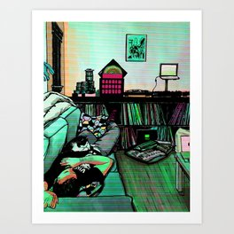 You Can't Spell Dreams Without a K Art Print