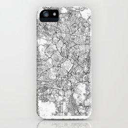 Kuala Lumpur Map Line iPhone Case