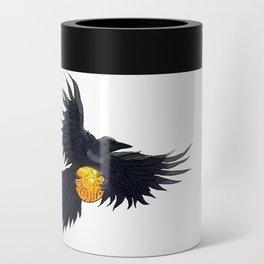 Crow Grabbing Sphere Can Cooler