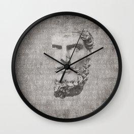 ANCIENT / Head of Lucius Verus Wall Clock