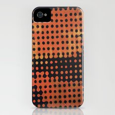 ORANGE HALFTONE Slim Case iPhone (4, 4s)
