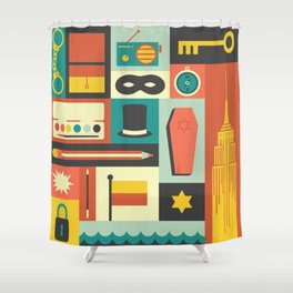 The Amazing Adventures of Kavalier and Clay Shower Curtain