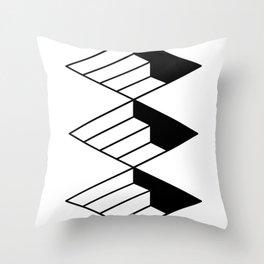stairways type Throw Pillow