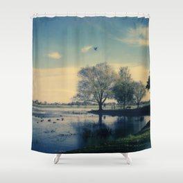 Lake Wendouree Shower Curtain
