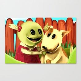 Inbetween Puppets Canvas Print