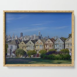 Painted Ladies San Francisco CA Serving Tray