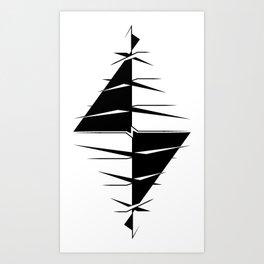 Nega/Tive Art Print