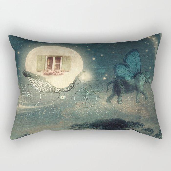 Moon Dream Rectangular Pillow