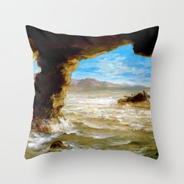 Shipwreck On The Coast - Digital Remastered Edition Throw Pillow