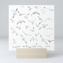 Seagul Line Art Mini Art Print