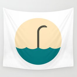 Nessie, the umbrella monster Wall Tapestry