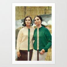 Twinset Art Print
