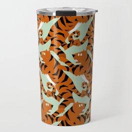 Tiger Conga pattern Travel Mug