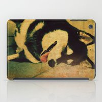 best friend iPad Cases featuring Best friend by Truly Juel