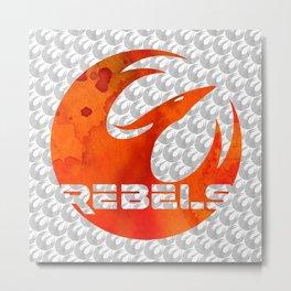 Star Wars Rebels Metal Print