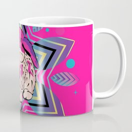 Cute bunny with patterns Coffee Mug