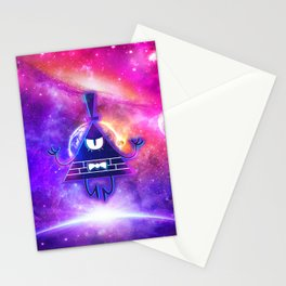 Mistical Pyramid - Enigmatic Space Stationery Cards