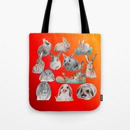 Bunny Mix Tote Bag