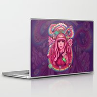 science Laptop & iPad Skins featuring She's Got Science by Megan Lara